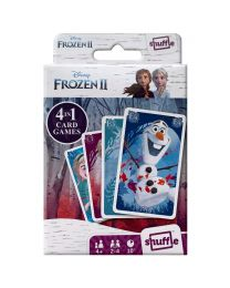 Disney Frozen II 4 in 1 kaart spelletjes