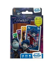 Disney Pixar Onward 4 in 1 kaartspellen