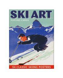 Ski speelkaarten Piatnik