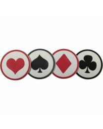 Speelkaarten onderzetters