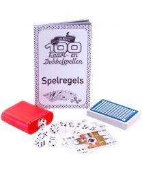 100 beste kaartspellen en dobbelspellen