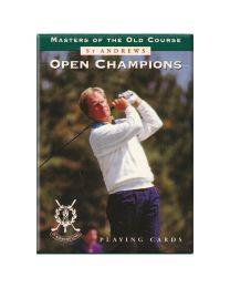 St Andrews Open Champions Piatnik kaarten groen
