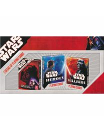 Star Wars 3 Decks of Playing Cards