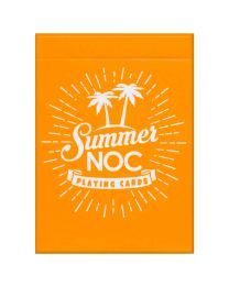 NOC Playing Cards Summer Edition Orange