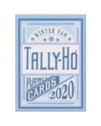 Tally-Ho Winter Fan Back speelkaarten 2020