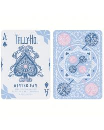 Tally-Ho Winter Fan Back Playing Cards 2020