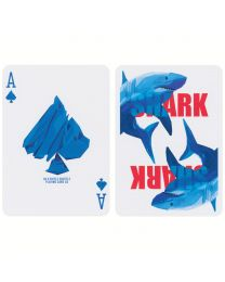 The Shark Playing Cards by Riffle Shuffle