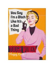 Tough Women Playing Cards Piatnik