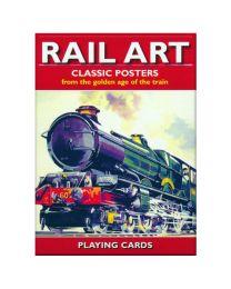Rail Art speelkaarten Piatnik