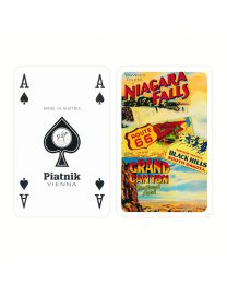 U.S. Vacation Playing Cards Piatnik