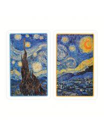 Van Gogh De sterrennacht speelkaarten Piatnik