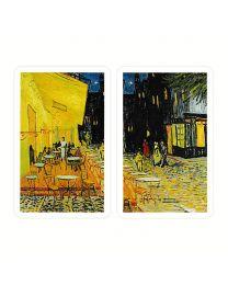 Vincent van Gogh kaarten Caféterras bij nacht