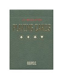 Vintage Plaid Playing Cards Arizona Red