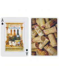 Wijn speelkaarten Piatnik