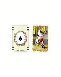Witte Paarden patience mini kaarten