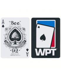 WPT speelkaarten zwart
