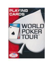 WPT speelkaarten rood