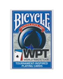 Bicycle speelkaarten WPT blauw