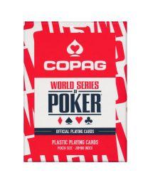 COPAG WSOP kaarten rood