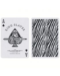 Zebra King Slayer Playing Cards