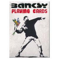 Banksy speelkaarten Piatnik