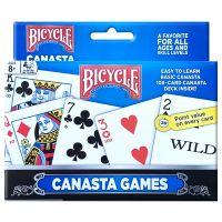 Bicycle Canasta games double deck speelkaarten