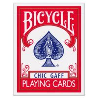 Bicycle Chic Gaff Playing Cards Red