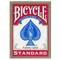Bicycle standaard index speelkaarten rood