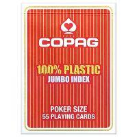 COPAG 100% plastic Jumbo Face rood