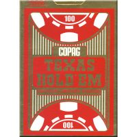 COPAG Texas Holdem kaarten rood