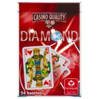 Diamond Cartamundi bridge kaartspel rood