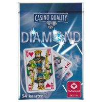 Diamond Cartamundi bridge kaartspel blauw