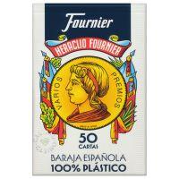 Fournier 50 kaarten Spaans kaartspel 100% plastic