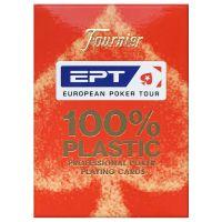 Fournier EPT professionele poker speelkaarten rood