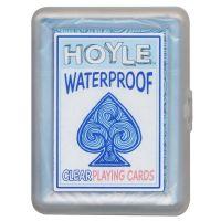 Waterdichte transparante speelkaarten HOYLE