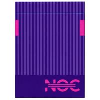 NOC3000X2 speelkaarten paarse editie