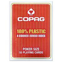 COPAG 100% plastic 4 hoeken index rood