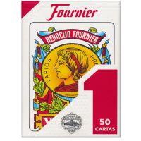 Spaanse kaarten Baraja Española Nº 1 Fournier Rojo