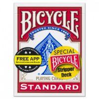 Bicycle Stripper Deck rood