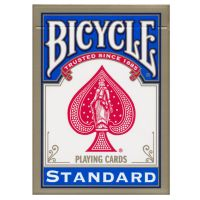 Bicycle standaard index speelkaarten blauw