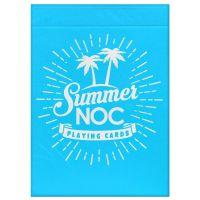 NOC speelkaarten zomereditie lichtblauw