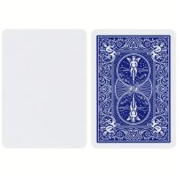 Bicycle Blue Blank Face Playing Cards