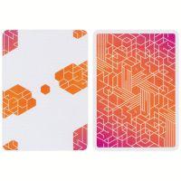 Bicycle Cardistry Cards Neon Orange