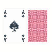 Bridge speelkaarten rood COPAG 100 plastic