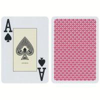 European Playing Cards Blackjack Cartamundi Red