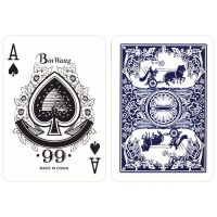 Cart classics playing cards No. 988 blauw