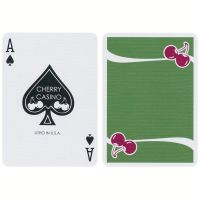 Cherry Casino Fremonts Sahara Green Playing Cards