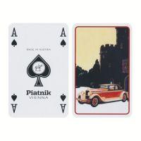Classic Cars bridge speelkaarten Piatnik