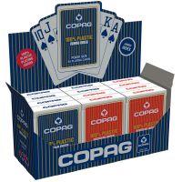 COPAG 12 decks plastic kaarten 2 jumbo indexen