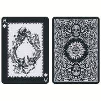 Disparos Black Playing Cards